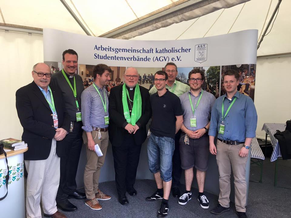 Katholische Studentenverbände auf dem 100. Katholikentag in Leipzig
