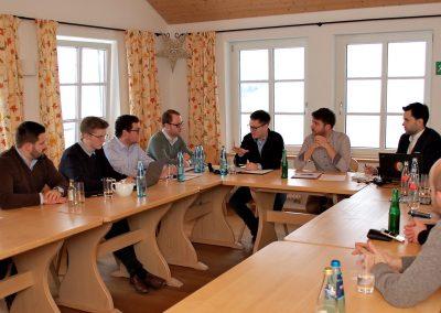 Blick in die Mitgliederversammlung