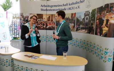 101. Katholikentag in Münster: Die Katholischen Studentenverbände waren wieder gut aufgestellt